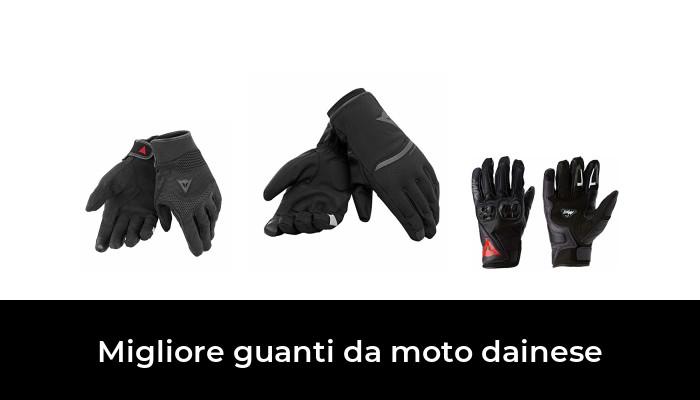 Rosso/&XL INBIKE Guanti da Moto Pelle Touchscreen Guanti Moto Estivi Traspirante Sportivo Imbottiti 3D Gel Pretettivo Resistente Motorino Vintage